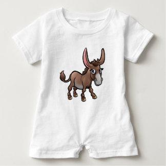 Body Para Bebé Personaje de dibujos animados de los animales del