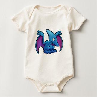 Body Para Bebé Personaje de dibujos animados del dinosaurio del