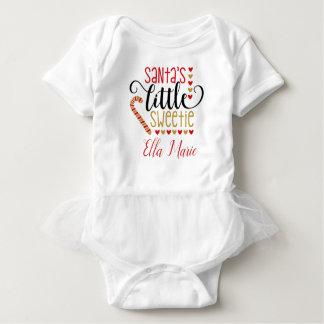 Body Para Bebé Personalizado del sweetie de Santas