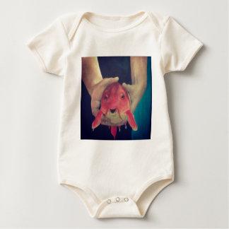 Body Para Bebé Pescados abstractos