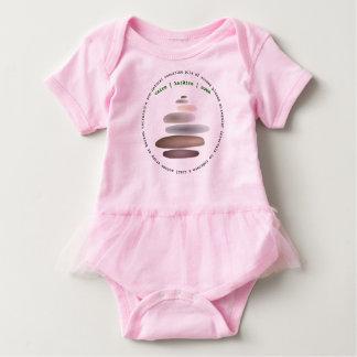 Body Para Bebé Piedra apilada mojón
