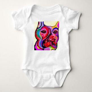 Body Para Bebé Pinscher del Doberman en colores brillantes