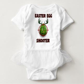 Body Para Bebé pistola del huevo de Pascua, desgin divertido del