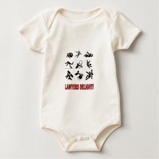 Body Para Bebé placer de los abogados