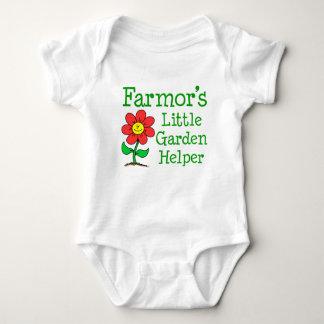 Body Para Bebé Poco ayudante del jardín de Farmor