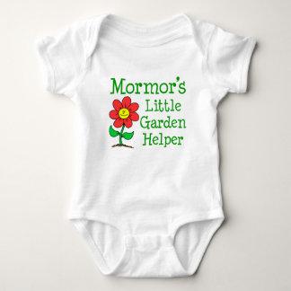 Body Para Bebé Poco ayudante del jardín de Mormor