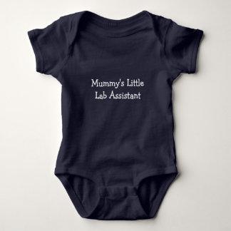 Body Para Bebé Poco ayudante del laboratorio de la momia