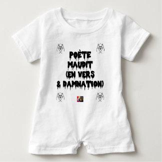 Body Para Bebé Poeta maldice (EN HACIA Y CONDENACIÓN ETERNA) -