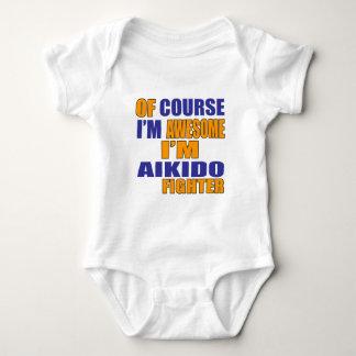 Body Para Bebé Por supuesto soy combatiente del Aikido