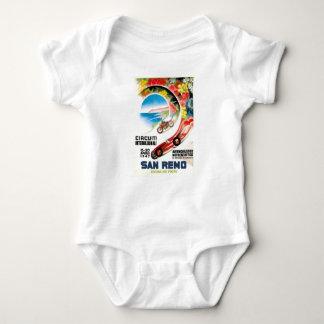 Body Para Bebé Poster 1947 de la raza de San Remo Grand Prix
