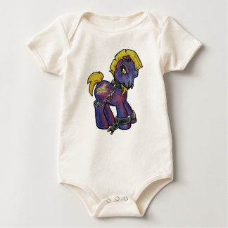 Body Para Bebé Potro del batería, Zak