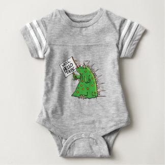 Body Para Bebé Pozo del gráfico de Greep hola allí