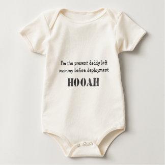 Body Para Bebé Presente del pre-despliegue del papá