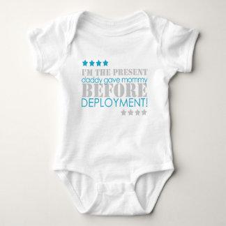 Body Para Bebé Presente entre los despliegues