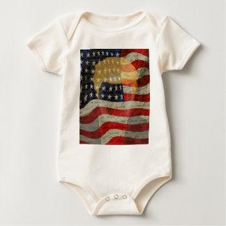 Body Para Bebé Presidente americano