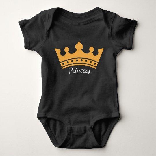Body Para Bebé Princesa