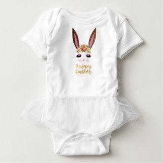Body Para Bebé Princesa feliz Bunny Face de Pascua