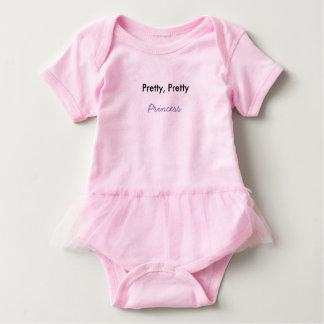 Body Para Bebé Princesa guapita de cara Baby Tutu