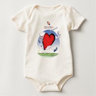 Body Para Bebé Principal y corazón, fernandes tony de Idaho