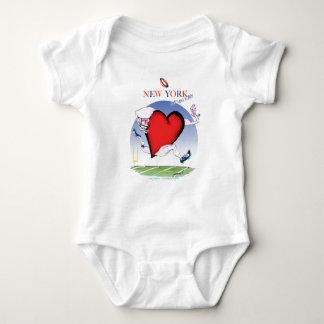 Body Para Bebé Principal y corazón, fernandes tony de Nueva York