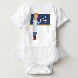 Body Para Bebé Profesor de matemáticas