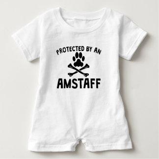 Body Para Bebé Protegido por un AmStaff