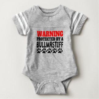 Body Para Bebé Protegido por un Bullmastiff