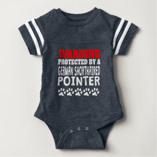 Body Para Bebé Protegido por un indicador de pelo corto alemán