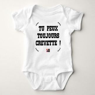 Body Para Bebé ¡PUEDES A SIEMPRE CAMARÓN! - Juegos de palabras