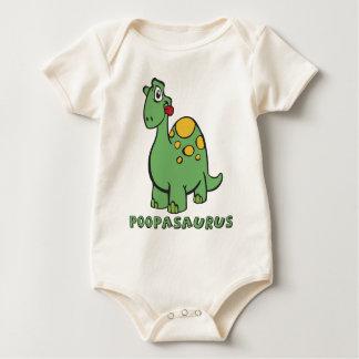 Body Para Bebé Puente de Poopasaurus