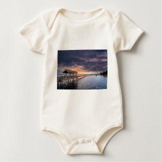 Body Para Bebé Puesta del sol en el parque del bulevar en