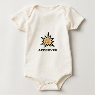 Body Para Bebé pulgares aprobados sí