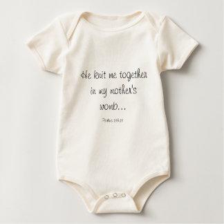 Body Para Bebé Punto del bebé junto