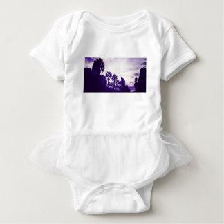 Body Para Bebé Púrpura de San Diego