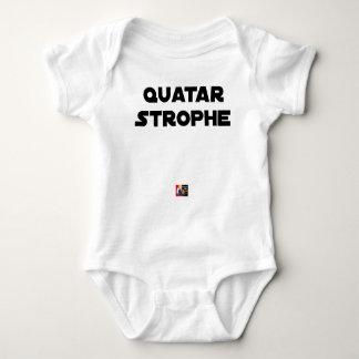 Body Para Bebé QUATAR ESTROFA - Juegos de palabras - Francois