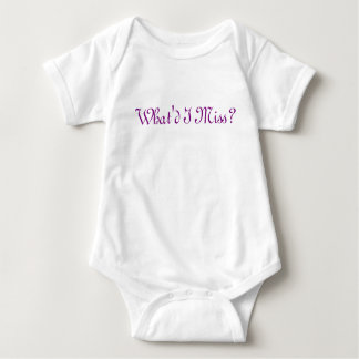 Body Para Bebé Qué Srta. Baby Item de I