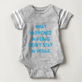 Body Para Bebé ¡Qué sucede en mono del fútbol del bebé de Vegas!