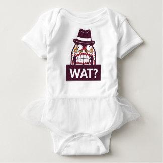 Body Para Bebé qué wat los dientes asustadizos diseñan