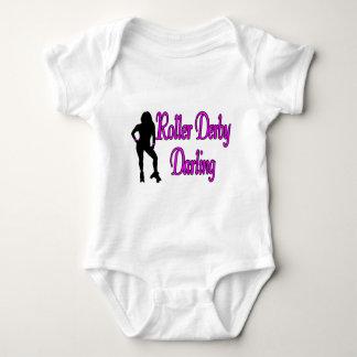 Body Para Bebé Querido de Derby del rodillo