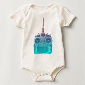 Body Para Bebé Radio azul/rosada del estilo de Miami de Spektrum