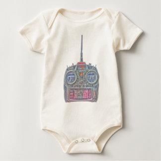 Body Para Bebé Radio de Spektrum RC del chulo del purpurina