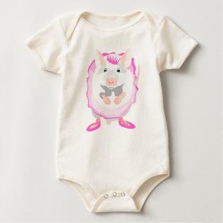 Body Para Bebé ratón de la bailarina