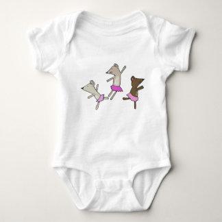 Body Para Bebé Ratones del baile