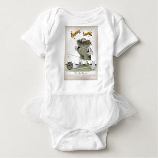 Body Para Bebé rayas blancas azules del encargado de la meta del