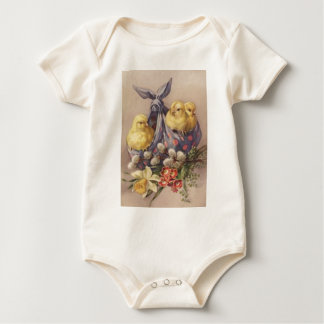Body Para Bebé Recogida de los polluelos de Pascua