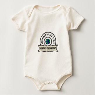 Body Para Bebé redentor del señor del mundo