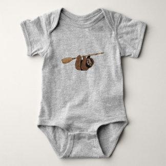 Body Para Bebé Reduzca el paseo - pereza en la escoba del vuelo