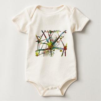 Body Para Bebé Regalo abstracto médico de las sinapsis