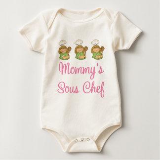 Body Para Bebé Regalo del cocinero de Mommys Sous