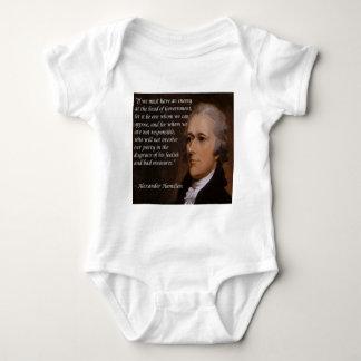 """Body Para Bebé Regalo del """"líder enemigo"""" de Alexander Hamilton"""